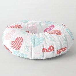 Happy V day Floor Pillow