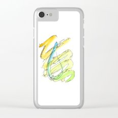 Flow Series #15 Clear iPhone Case