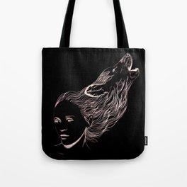 Wolfgirl  Tote Bag