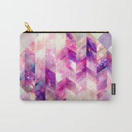 Abstract Geometric Pink Galaxy Carry-All Pouch