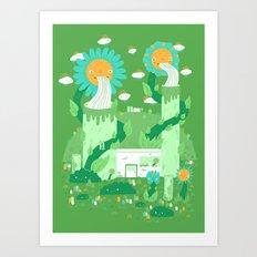 Power plant Art Print