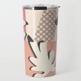 Finding Matisse pt.1 #society6 #abstract #art Travel Mug