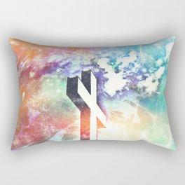 Holy Cross Pastel Distressed Rectangular Pillow