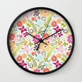 Terrain Wall Clock