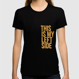 This is my left side T-shirt