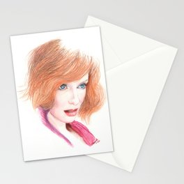mad joan... Stationery Cards