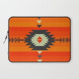 Southwestern in orange and red Laptop Sleeve
