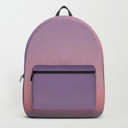 LA sunset sky gradient 243 Backpack