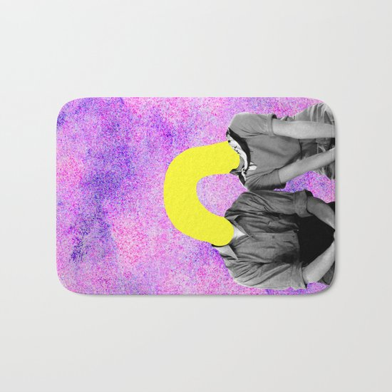 Stay With Us Bath Mat