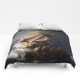 The Storm on the Sea of Galilee, Rembrandt Comforters