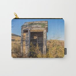 Outhouse, Hurd Round House, ND 2 Carry-All Pouch