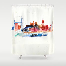 Zenith City Shower Curtain