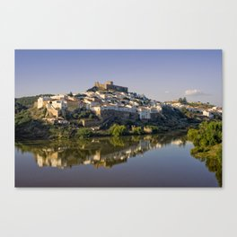 Dusk at Mertola, Portugal Canvas Print