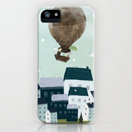 with the birds iPhone Case