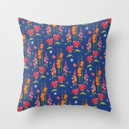 Live In The Garden Sleep In The House Throw Pillow
