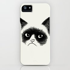 Grumpy Cat iPhone (5, 5s) Slim Case
