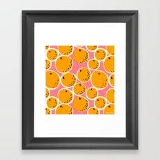 Oranges Framed Art Print