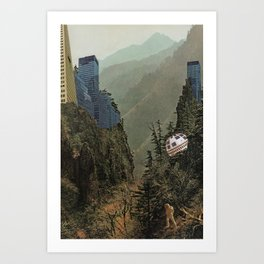 Huida Art Print