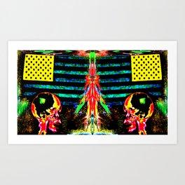 Eye American Apocalypse!  Art Print