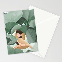 Fan Palms Stationery Cards
