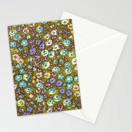 Olivine Garden Party Floral Stationery Cards