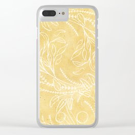 Add Spice to your Life: herb toss ochre Clear iPhone Case