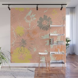 Late Summer Peach Wall Mural