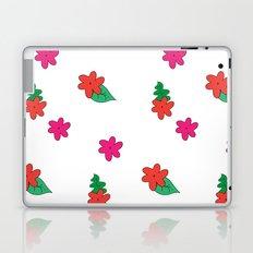 little pink flowers Laptop & iPad Skin