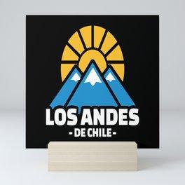 Los Andes de chile Mini Art Print