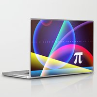 pi Laptop & iPad Skins featuring Pi by Mark Sheeky