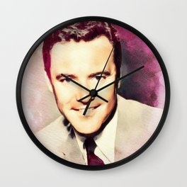 Jack Lemmon, Movie Legend Wall Clock