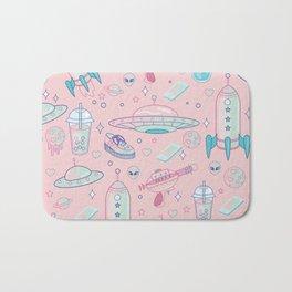 Magical Space Babe Pattern Bath Mat