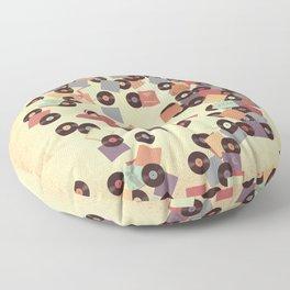 Back to Vinyl Floor Pillow