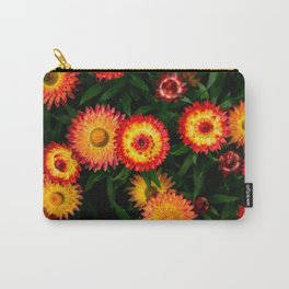 Plant Patterns - Flowery Fireworks Carry-All Pouch