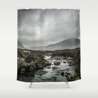 skyfall Shower Curtains featuring Skyfall by tipptapp