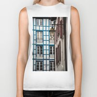 architecture Biker Tanks featuring Basque architecture by MarioGuti