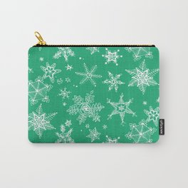 Snow Flakes 04 Carry-All Pouch