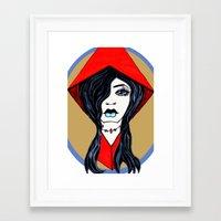 tiffany Framed Art Prints featuring Tiffany by Angela Elizabeth
