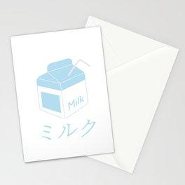 Funny Aesthetic Milk Brick design Vaporwave Milk Carton 90s Otaku Style Stationery Cards