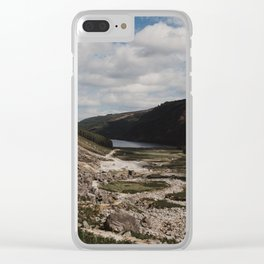 Hiking the Wicklow Mountains Clear iPhone Case