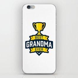 Best Grandma Ever iPhone Skin