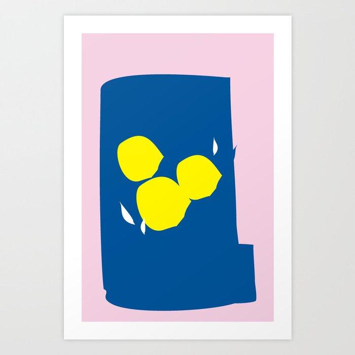 Yellwo Roses Art Print
