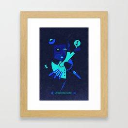 Mozart - Stereophonic Sound   Framed Art Print