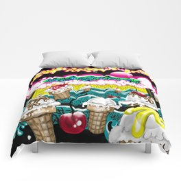 Ice Cream Dream3 Comforters