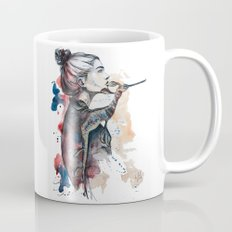 seehorse by carographic Mug