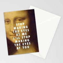 Mona on the Dancefloor Stationery Cards