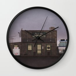 The Harvelle's Roadhouse Supernatural Wall Clock