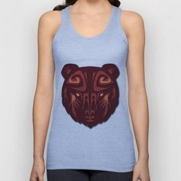 """""""Mathuin in Vector"""" by Paper Laine Unisex Tank Top"""