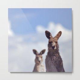 I See You Kangaroo Metal Print