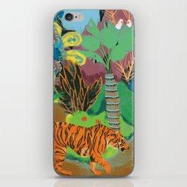 Tiger in the Jungle iPhone Skin